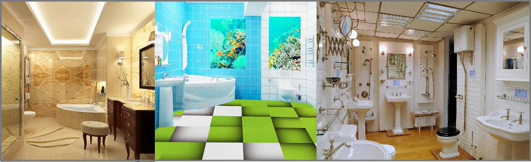 3DBathroom Modeling and visualization Services