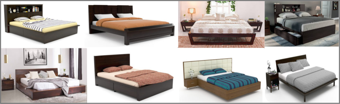 3D  Beds Modeling and Visualization Services