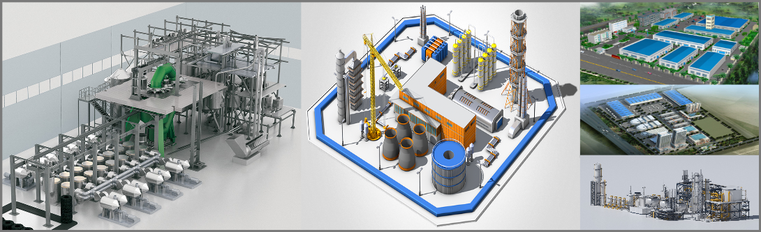 3D Factory Modeling and visualization Services