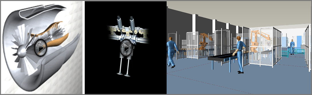 3D Process Modeling and visualization services