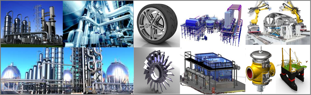 3D Modeling animation and 3D visualization services for the process industry and plant engineering