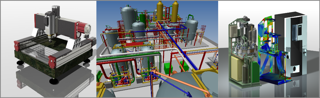3D visualization Mechanical engineering services