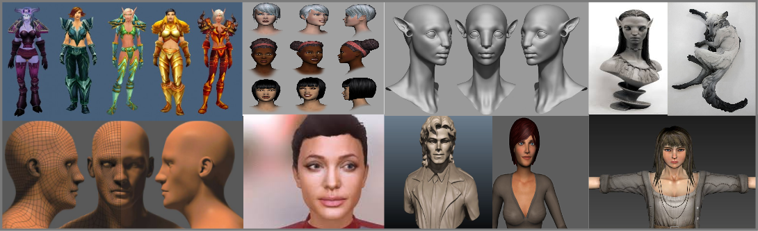 3d Avatar Modeling and Visualization services