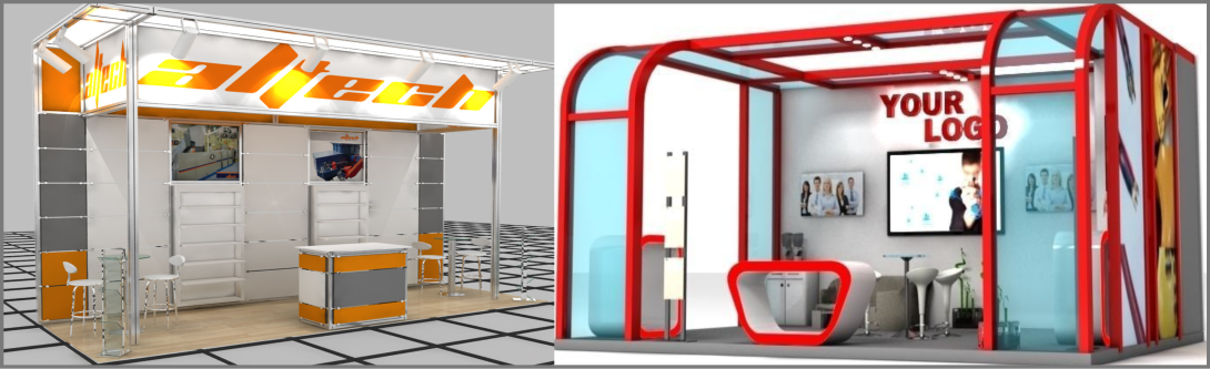 3D exhibition construction business and ideas