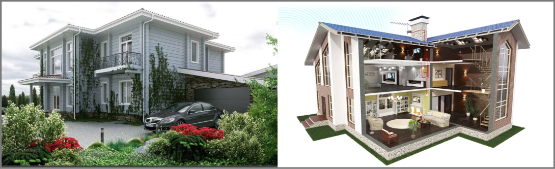 3D house Modeling and visualization new solutions for construction