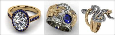 3D jewelry visualization at the highest level