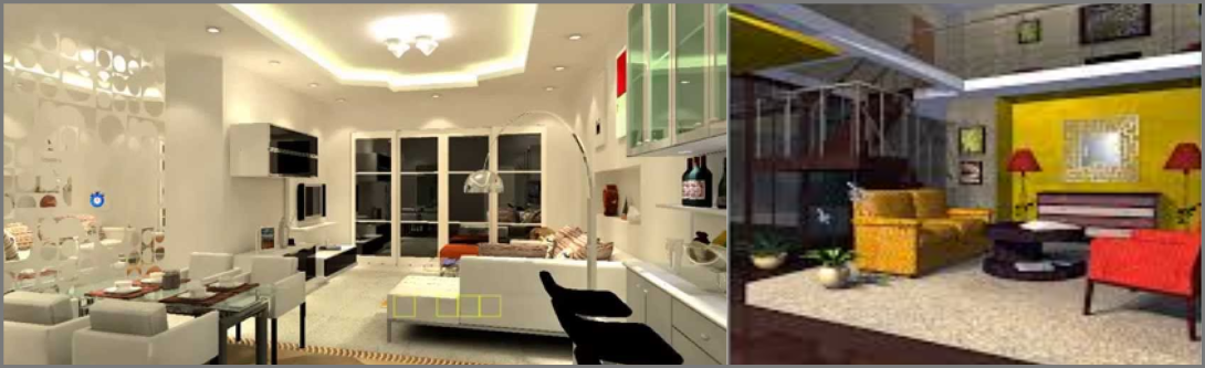 3D visualization for interiors