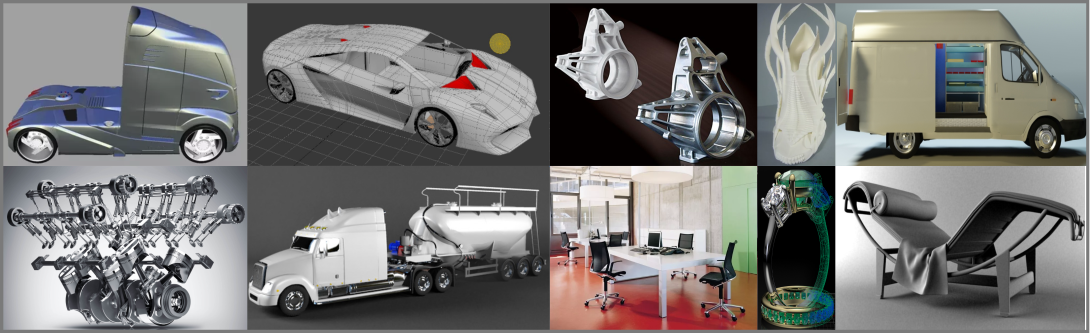 3d Product Visualizations Services