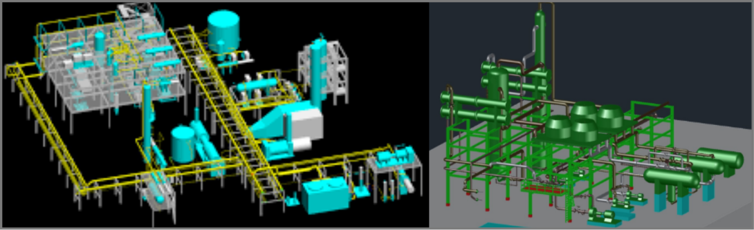 3d process visualizations services