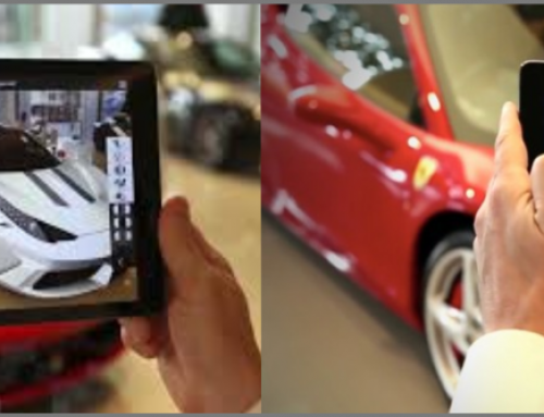 Mobile marketing with the help of 3D